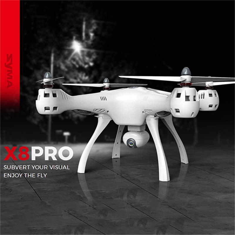 SYMA X8PRO Large-scale Remote Control Helicopter GPS Realtime Aerial Photo Aircraft Supp ...