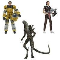 Hot Sale 7 18CM Alien Series 6 Amanda Ripley Jumpsuit Torrens Spacesuit Isolation Xenomorph PVC Action