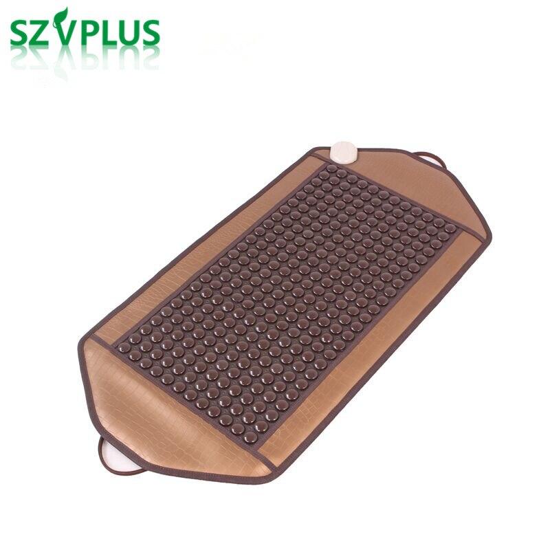 92 45CM Natural Tourmaline jade Heating Pad thermal massager cushion 288pcs Korea Far Infrared Ray Thermal