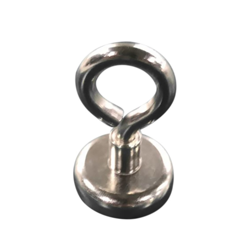 Vertical Pull-force Strong Neodymium Magnet with Eyebolt Super Powerful Retrieving Magnet Metal DetectorVertical Pull-force Strong Neodymium Magnet with Eyebolt Super Powerful Retrieving Magnet Metal Detector