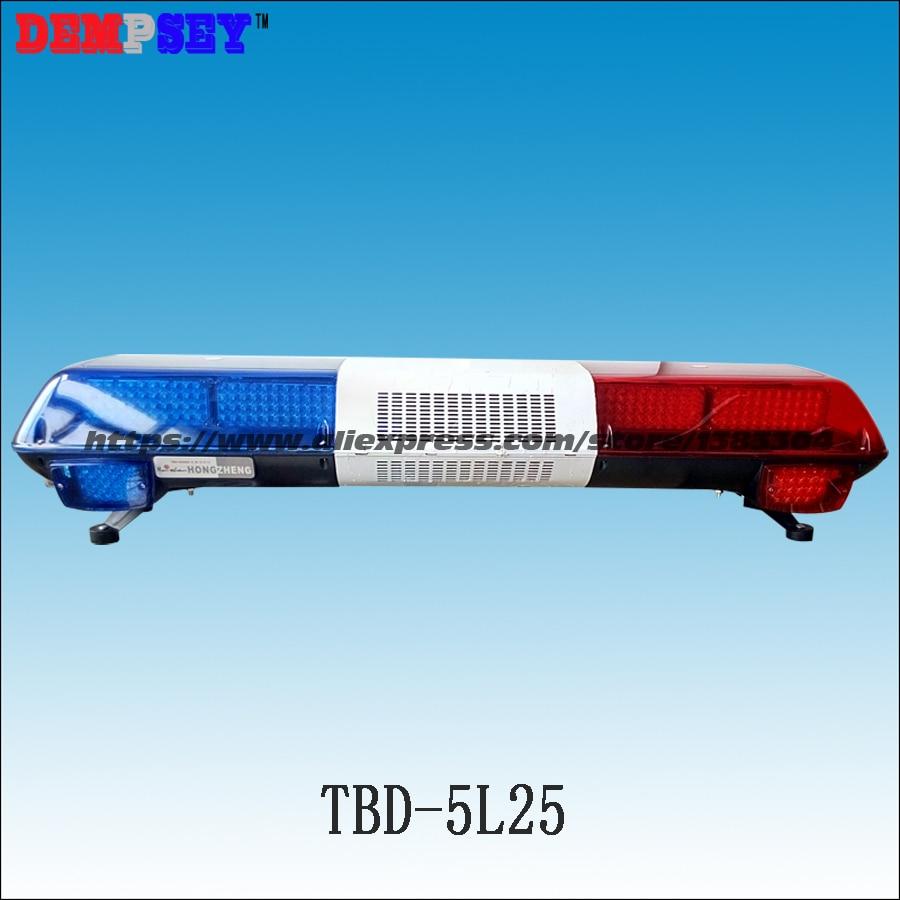 Tbd 5l25 супер яркий светодиодный световой, 100 Вт Сирена + 100 Вт Динамик, красный/синий Предупреждение фонари, аварийного Предупреждение lightbar пол