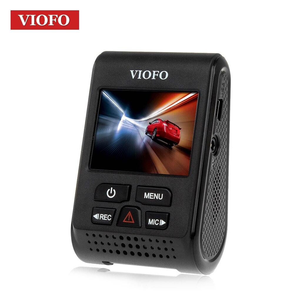 VIOFO Original A119 V2 coche Dash Cam DVR GPS condensador Novatek 96660 Blackbox H.264 2 K HD 1440 p rociada del coche de la Cámara DVR Hardwire