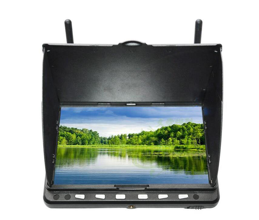 SKYZONE SKY-HD 02 5.8G High-resolution 7-inch screen High-definition LCD screen display for FPV Kvadrokopter RC Drone aircraft