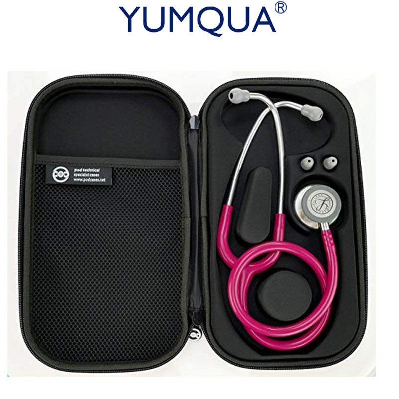 Stethoscope Case for 3M Littmann Classic III Stethoscope-Fits Prestige Storage Cover Box Carrying Case Taylor Percussion Hammer