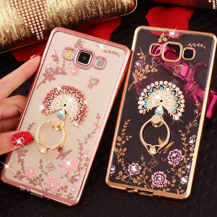 For fundas samsung galaxy j1 j3 j5 j7 2016 j710f j510f j120f case crystal rhinestone diamond - Samsung galaxy s2 fundas ...