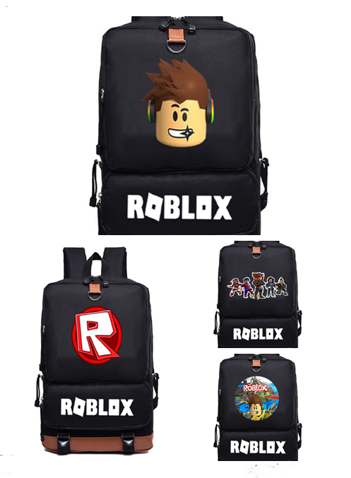 18 Inch Roblox Bag Rock Band Backpack Student Bag Notebook Ipad