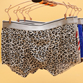 Alta Qualidade de Seda Gelo Seamless Cuecas Sexy Homens Dos Desenhos Animados Boxers Underwear Boxer Shorts Mens Calcinhas Gay Calzoncillos cueca XXL