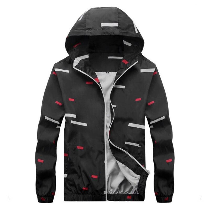 2017 осенняя куртка Для мужчин Повседневное хлопок куртка с капюшоном пальто Для мужчин  ...
