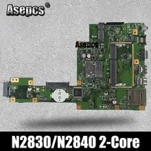 Carte mère d'ordinateur portable Asepcs X553MA pour ASUS X553MA X553M A553MA D553M F553MA K553M Test carte mère originale N2830/N2840 CPU 2 cœurs