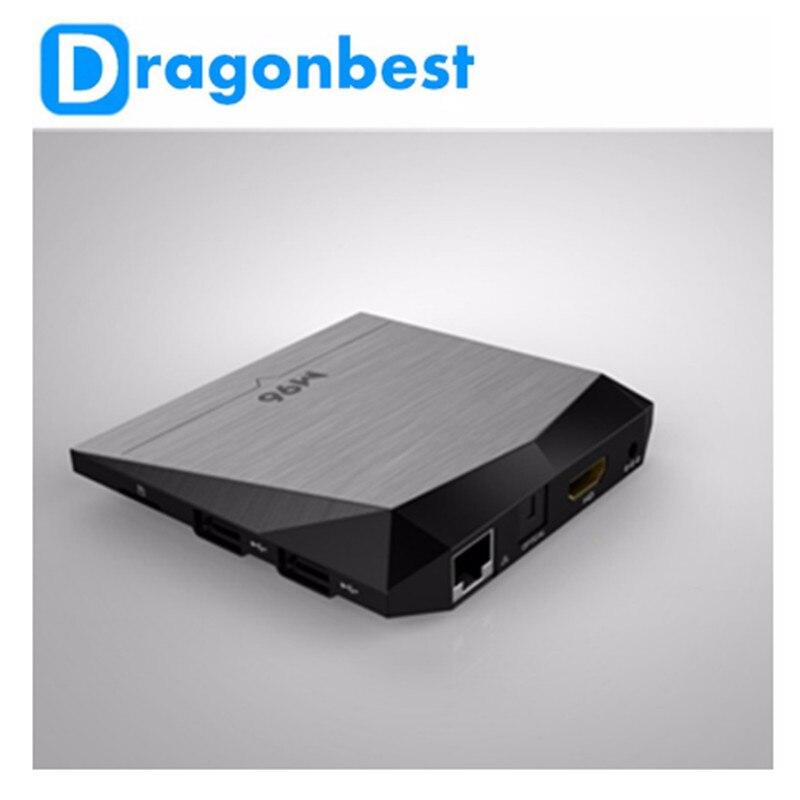ФОТО Set Top Box Android 6.0 M96X Amlogic S905X tv box 2GB 8GB Quad-core Marshmallow satellite receivers kodi mart Media Player