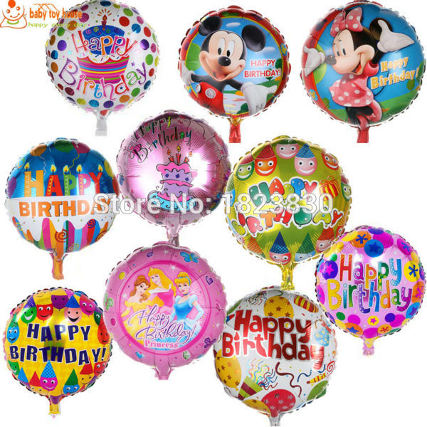 18inch festa minnie mouse red party balloons happy birthday