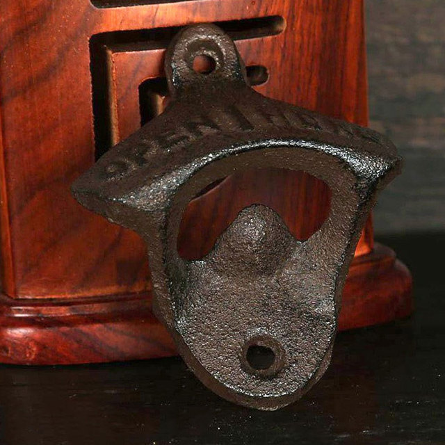 Wall Mounted Antique Style Bottle Opener 4