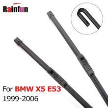 RAINFUN автомобильные стеклоочистительные полосы для BMW X5 E53 1999 2000 2001 2002 2003 2004 2005 2006 стеклоочистители 24+ 22 дюйма