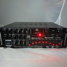 220 V-240 V 200 W + 200 W SUNBUCK AV-MP326C ECHO MEZCLADOR digital Profesional amplificador amplificador de karaoke En Casa con EQ ecualización