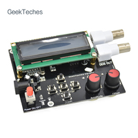 GeekTeches DDS Function Signal Generator Module Kit Sine Square Sawtooth Wave Black Board