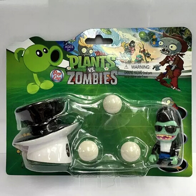 Plants vs Zombies toy PVC Action Figure Model Toy Cactus / magic mushroom striker Toys For Baby Gift  3 8cm plants vs zombies action figure toy pvc plants vs zombies figure model toys for children collective brinquedos