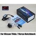 Especial de Laser Traseiro luz de Nevoeiro Para Nissan Tiida/Versa Hatchback 2006 ~ 2015/Colisão Da Cauda Traseira Do Carro À Prova D' Água-Luzes de advertência