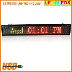Tri kolor ekran reklamowy LED Ultra jasności oświetlenie wewnętrzne USB programowalny ruchu edytować słowa wyświetlacz LED pokładzie na zewnątrz