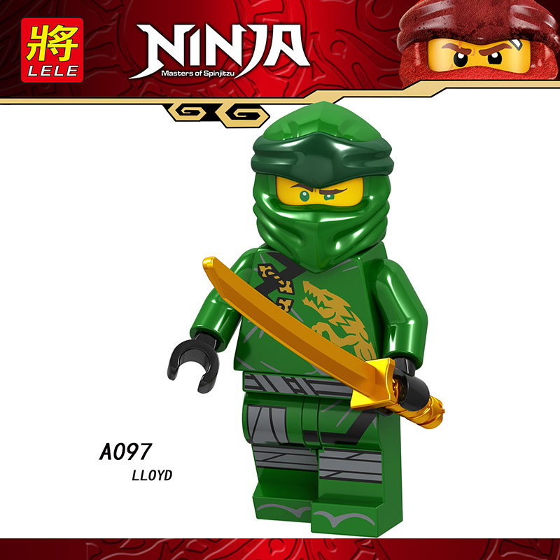 Single Sale Legoings Ninja Mini Figured Cole ChokunZane Kai Chop Rai Nya Lloyd Bricks Building Blocks Learning Toys Boys Gifts