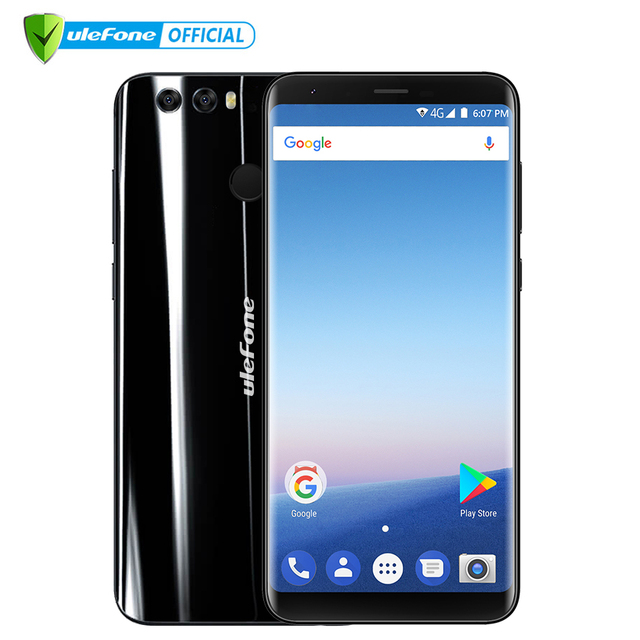 "Ulefone Mix 2 4G Mobile Phone 5.7"" HD+ MTK6737H Quad Core Android 7.0 2GB RAM 16GB ROM Fingerprint 13MP Dual Camera Cellphone"