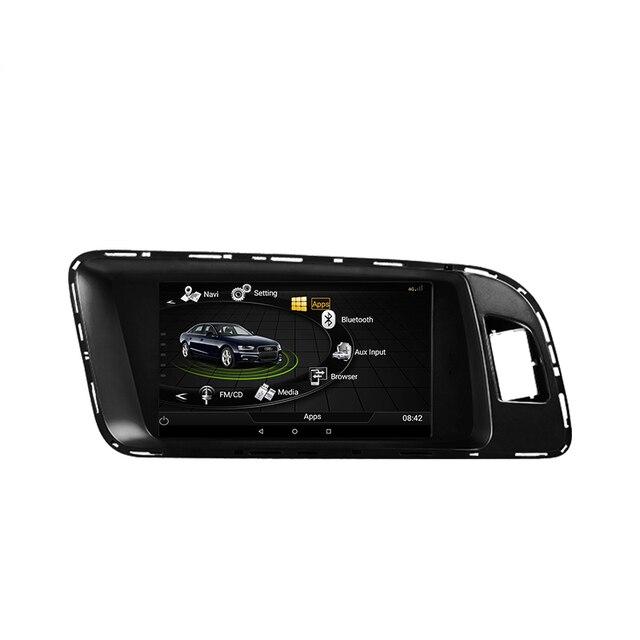 OZGQ 3G MMI Android Touch Screen Octa Core Car Multimedia Player Autoradio For Audi 2010-2016 Q5 WiFi Bluetooth GPS Navigation
