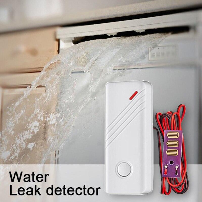 Wireless Water Intrusion Leakage Sensor Detector water Leak Sensor 433MHz  For Alarm System yobang security wireless water leakage sensor detector water flood sensor 433mhz leak detector for g90b alarm panel