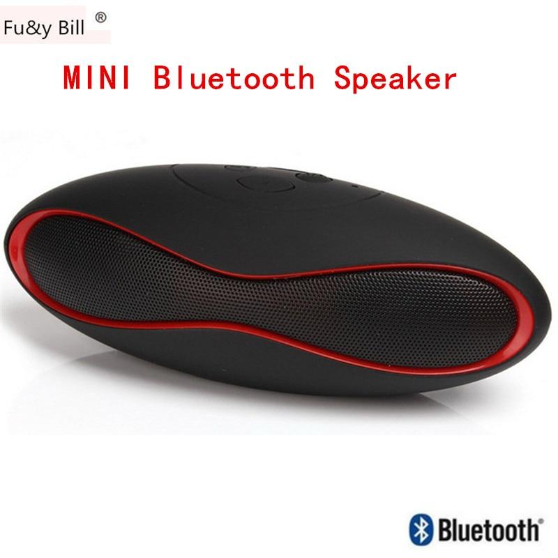 2017New Mode Mini Portable Rugby Bluetooth Haut-Parleur Boombox Sans Fil Sport Haut-Parleur Lecteur de Musique de Soutien TF/USB Barre De Son