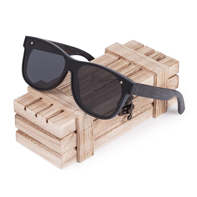 BOBO BIRD Cool Sun Glasses Wooden Sunglasses Women Men Polaroid  Lens Eye wear with Gift Wooden Box Oculos De Sol Gafas