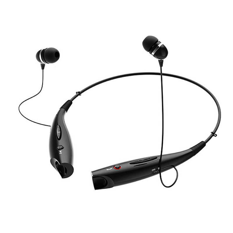 Stereo Bluetooth Headset Wireless Headphone Neckband Style Earphones for iPhone Nokia HTC Samsung Bluetooth Cellphone zd desktop clip on flexible cellphone holder for iphone samsung htc more black
