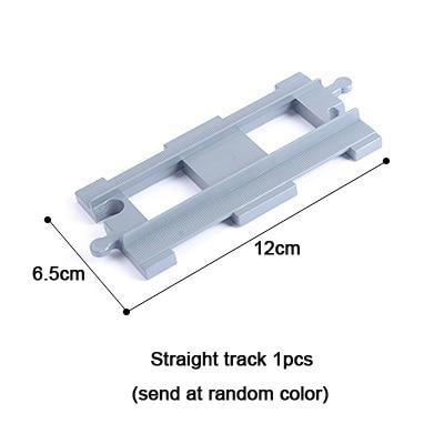 MEOA Large Building Blocks Spare Parts for DIY Big Size Building Bricks Train Railway Track Blocks compatible with Duplp Blocks