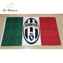 Italy Juventus FC 3ft*5ft (90*150cm) Size Christmas Decorations for Home Flag Banner Type B Gifts