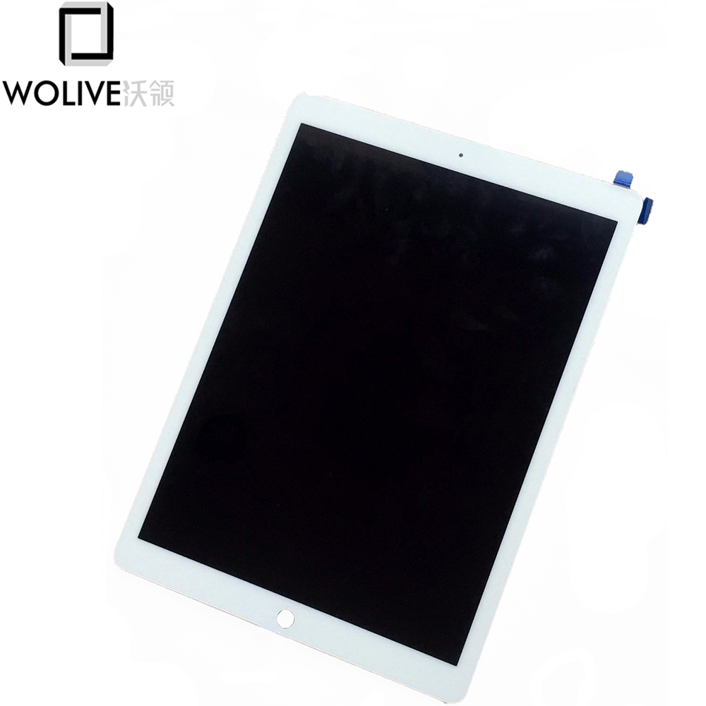 Wolive Tablet A1584 A1652 for iPad Pro 12.9 inch Touch Screen LCD Assembly Replacement IC Chip Installed original lcd touch screen replacement for ipad pro 12 9 inch a1652 a1584 display screen digitizer assembly black white