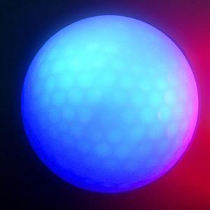 Image 3 - Synthetische Gummi Golf LED Leuchtende Kugel Oft Helle Ball Geeignet Für Nacht Verwenden Multi farbe Optional Großhandel