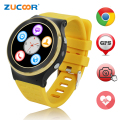 3G Android Smart Watch Phone 5MP Camera GPS/WiFi/SIM Card Quad Core Bluetooth Smartwatch Heart Rate Fitness Tracker PK LF07 LF09