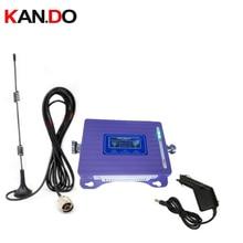 עבור רכב 2G 4G משחזר עם כבל אנטנה LCD תצוגה כפולה להקות GSM 4G מאיץ מהדר DCS 900 1800 mhz רכב 4g LTE בוסטרים