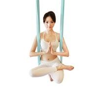 Aerial Flying Yoga Hammock Anti Gravity Yoga Swing Belts Yoga Fabric Training Equipment For Pilates Body