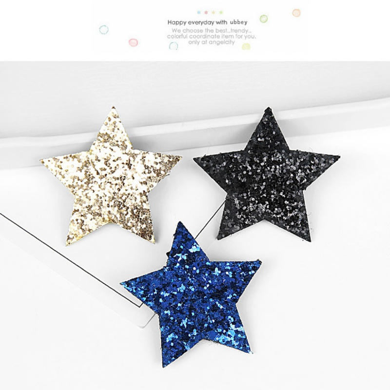 Girls' Baby Clothing Lovely Girls Hair Clips Cute Sequins Star Shape Hair Pin Children Hairpin Princess Hair Accessories For All Ages Mother & Kids
