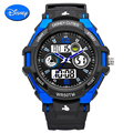Disney Марка Мужчины Повседневная Спортивные Часы Цифровые Кварцевые СВЕТОДИОДНЫЕ Электронные Часы Погружения Многофункциональный Мужские Наручные Часы Relógio Masculino