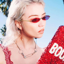 MOLAUNA Luxury Rimless Sunglasses Women Small Round Fashion Sun Glasses Retro Mirror Alloy Shades Female Glasses Oculos De Sol molauna round sunglasses women brand designer retro sun glasses for women fashion mirror shades female glasses oculos de sol