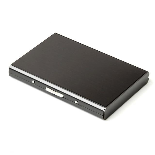 Card Holder Stainless Steel Metal RFID Case