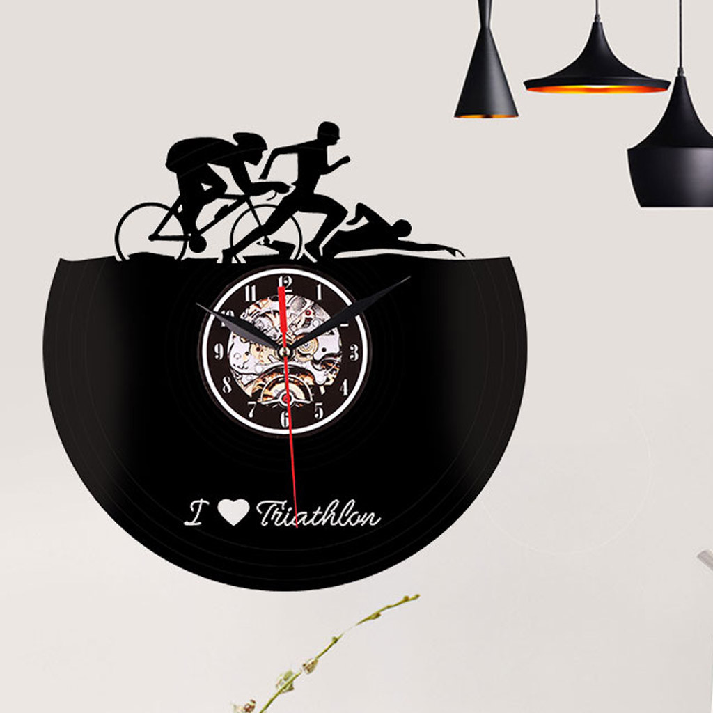 Creative Style Non-Ticking Silent Antique Rubber Wall Clock For Home Kitchen 2019 High Capacity  Hot Selling  Dropshipping