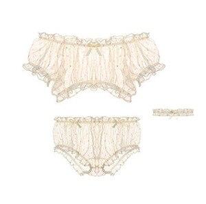 Image 4 - Vrouwen Sheer Sterren Ultra dunne Gaas Off Schouder Mouw Tops Shorts Been Ring Ondergoed Set Verleiding Sexy Pyjama voor lingerie