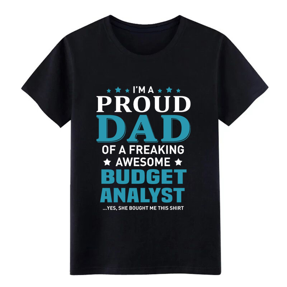 Men's Budget Analyst t shirt Design 100% cotton Euro Size S-3xl Normal Cute fashion Spring Novelty shirt image