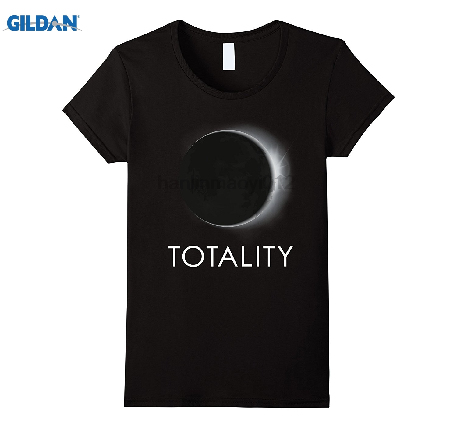 GILDAN Solar Eclipse 2017 - Totality Total Solar Eclipse T-Shirt Dress female T-shirt