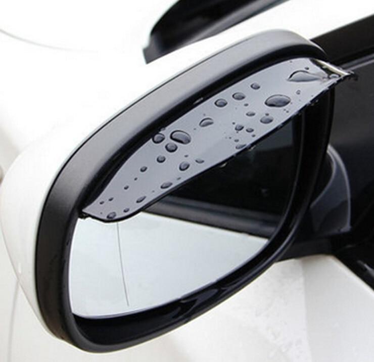 2 PCS Car Styling espelho Retrovisor chuva sobrancelha para Trax Chevrolet Cruze Aveo Volt Camaro Epica Captiva Lova Sail Cobalto