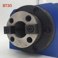 CH002 BT30 шпинделя Chuck 0.37KW Мощность головы Мощность блок шпинделя Макс. об/мин 3000 об./мин. для фрезерный станок горячая распродажа