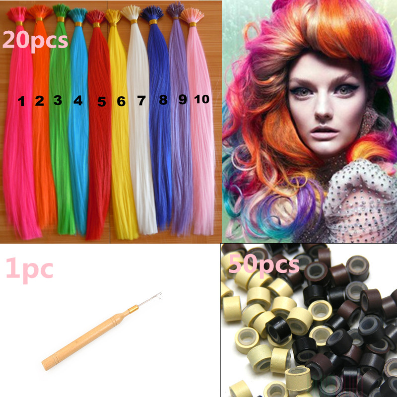 20pcslot i tip hair extension 50 beads a hook grizzly synthetic 20pcslot i tip hair extension 50 beads a hook grizzly synthetic hair extensions ring synthetic loop hair piece solid color on aliexpress alibaba pmusecretfo Images
