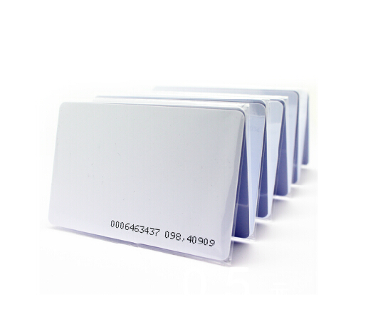 Thin Id-Card RFID 125khz Proximity Smart EM4100 100pcs/Lot With Serial No.-For-Access-Control-Read