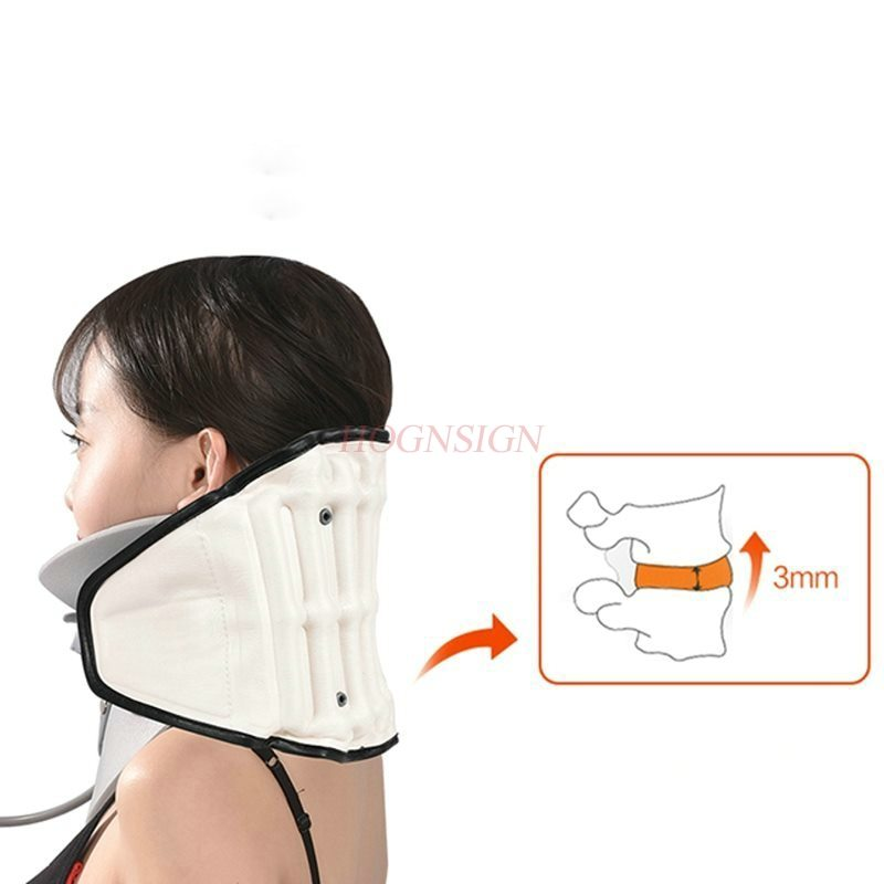 Inflatable Cervical Vertebra Tractor Medical Home Cervical Spondylosis Correction Fixture Stretching Adult Neck Pain cervical repositioning sense in subjects with non specific neck pain