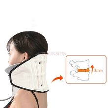 Inflatable Cervical Vertebra Tractor Medical Home Cervix Spondylosis Correction Fixture Stretch Adult Neck Pain Office Care недорого